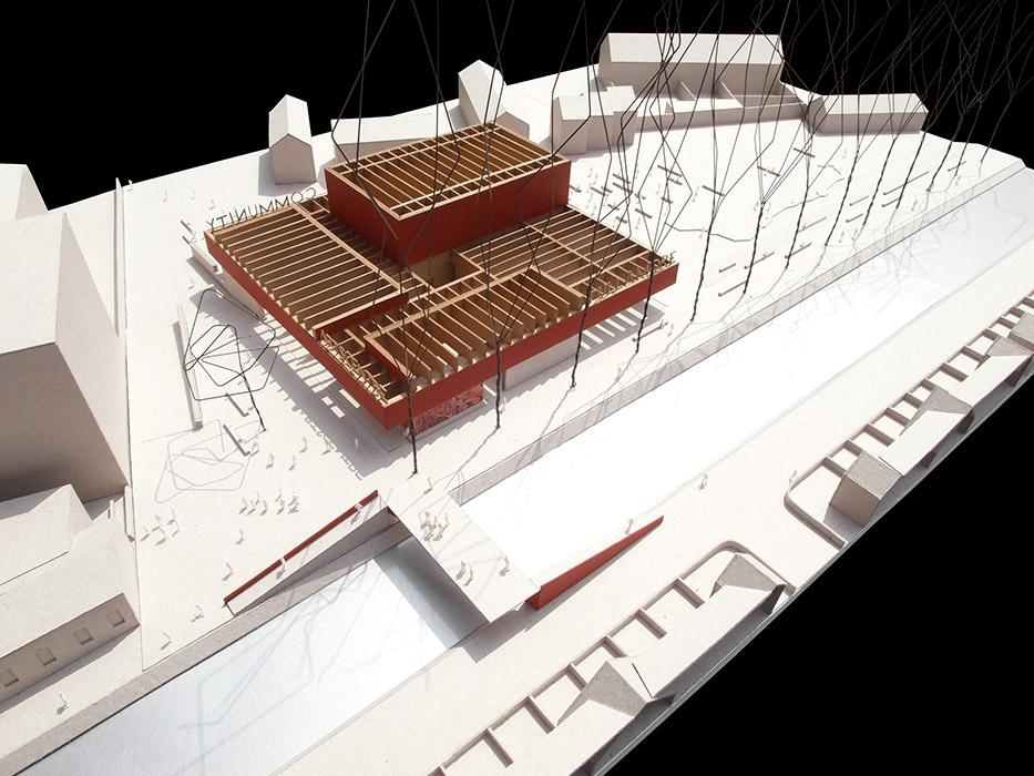 tullamore community arts centre a2 architects. Black Bedroom Furniture Sets. Home Design Ideas
