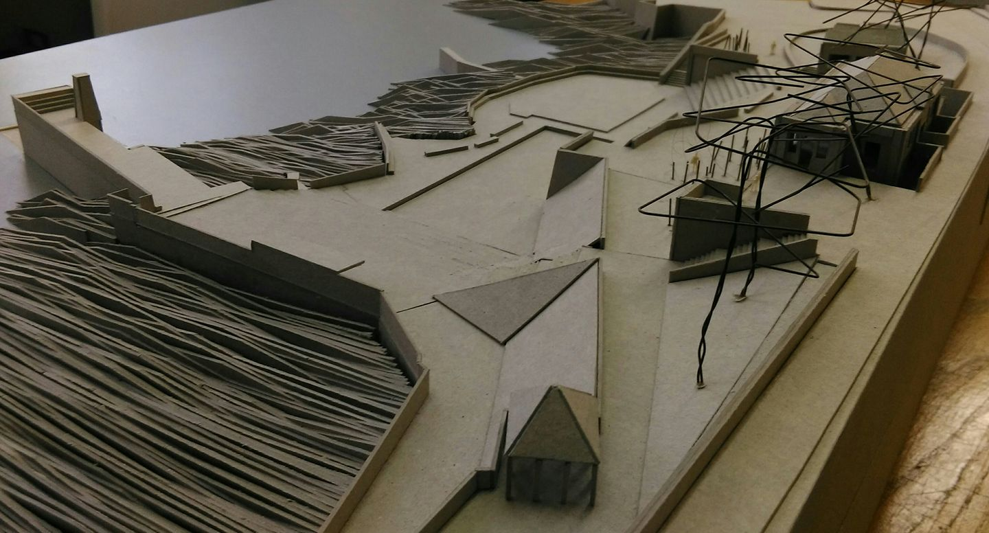 Project Photo 1_Model View of DLR Baths Complex